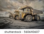 Coal Mining. The Truck...