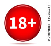 18  age restriction icon....   Shutterstock . vector #560661157