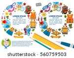 creative template with place... | Shutterstock .eps vector #560759503