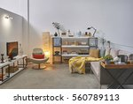 luxury office room detail... | Shutterstock . vector #560789113