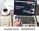 bangkok  thailand   january 21  ... | Shutterstock . vector #560840203