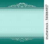 template for certificate ... | Shutterstock .eps vector #560864857