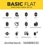 basic set of notification ... | Shutterstock .eps vector #560888233