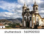 View Of Historic Baroque Churc...