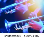 abstract blurred image. actor... | Shutterstock . vector #560931487