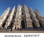 milan  italy   circa january... | Shutterstock . vector #560947477
