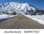 Road In Ziria Mountain On A...