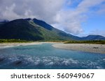 on the way to franz josef  new... | Shutterstock . vector #560949067