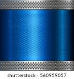 metallic background  metal... | Shutterstock .eps vector #560959057