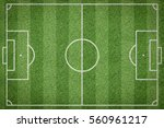 soccer field  football field | Shutterstock . vector #560961217