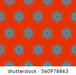 abstract repeat backdrop.... | Shutterstock .eps vector #560978863