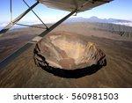the crater of piton de la...