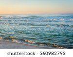 Waves In The Gulf Of Mexico At...