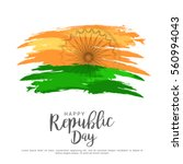 illustration of happy indian... | Shutterstock .eps vector #560994043