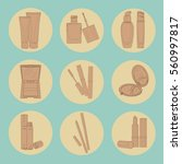 set of icons for the site on...   Shutterstock .eps vector #560997817