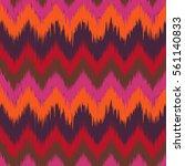 colorful chevron ornament... | Shutterstock .eps vector #561140833