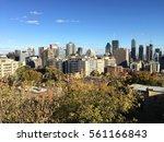 view of montreal's skyline... | Shutterstock . vector #561166843
