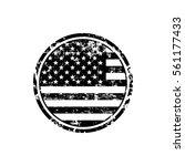 Usa American Grunge Rubber...