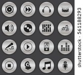 set of 16 song icons. includes...