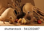 still life and life | Shutterstock . vector #561202687