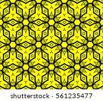 modern geometric seamless... | Shutterstock .eps vector #561235477