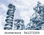 industrial zone the equipment... | Shutterstock . vector #561272203
