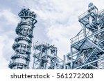 industrial zone the equipment... | Shutterstock . vector #561272203
