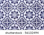 old tiled background  ... | Shutterstock . vector #56132494