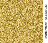 glittered gold shine background.... | Shutterstock .eps vector #561331033