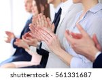 close up of business people...   Shutterstock . vector #561331687