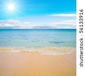 ocean waves exhausted | Shutterstock . vector #56133916