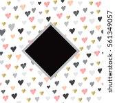 light seamless pattern with...   Shutterstock . vector #561349057