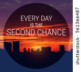 Small photo of Inspirational quote on blurred cities scape & sky background with vintage filter