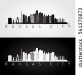 kansas city usa skyline and