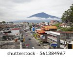 bukittinggi  west sumatra ... | Shutterstock . vector #561384967