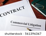 commercial litigation form and...   Shutterstock . vector #561396367