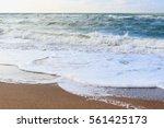 Beach Landscape In Clear...