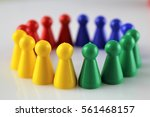 Small photo of An image of a game Parcheesi, Aggravation, and Trouble - Ludo