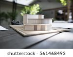 housing model architecture... | Shutterstock . vector #561468493