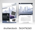 cover design annual report... | Shutterstock .eps vector #561476263