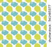 vector seamless pattern.... | Shutterstock .eps vector #561485377