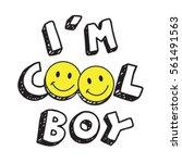 Coo Boy L Smile Typography  Te...