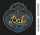 Bali Hand Drawn Typography...