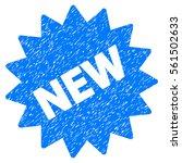 new sticker grainy textured... | Shutterstock .eps vector #561502633
