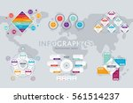 abstract infographics concept...   Shutterstock .eps vector #561514237