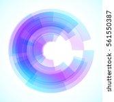 geometric frame  vector... | Shutterstock .eps vector #561550387