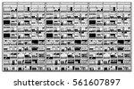 illustration of asian... | Shutterstock .eps vector #561607897