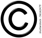3d Copyright Symbol