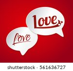 vector illustration card ... | Shutterstock .eps vector #561636727