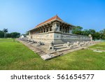 independence memorial hall ... | Shutterstock . vector #561654577